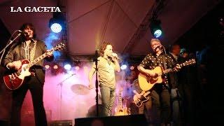 Javier Calamaro y Marcelo Moura tocaron juntos en la inauguración de Johnny B. Good