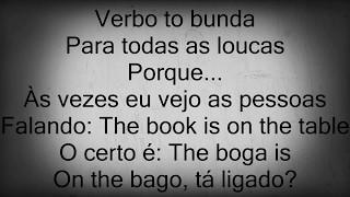 MC Lan - verbo to bunda: open the tcheka parte 2 ( letra )