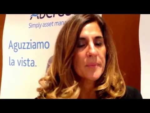 Parla Laura Nateri, country head per l'Italia di Aberdeen Asset Management