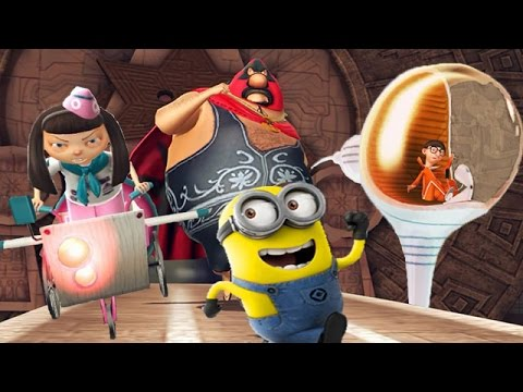 Despicable Me 2: Minion Rush Part 47 Vector | Meena | Pollo Locos Boss