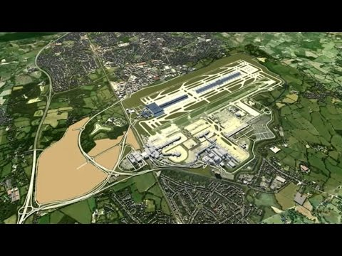 The construction of Gatwick's new runway