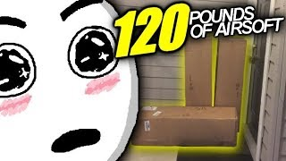 120 Pound Airsoft Unboxing!!! - $2,000 of stuff from Airsoft GI