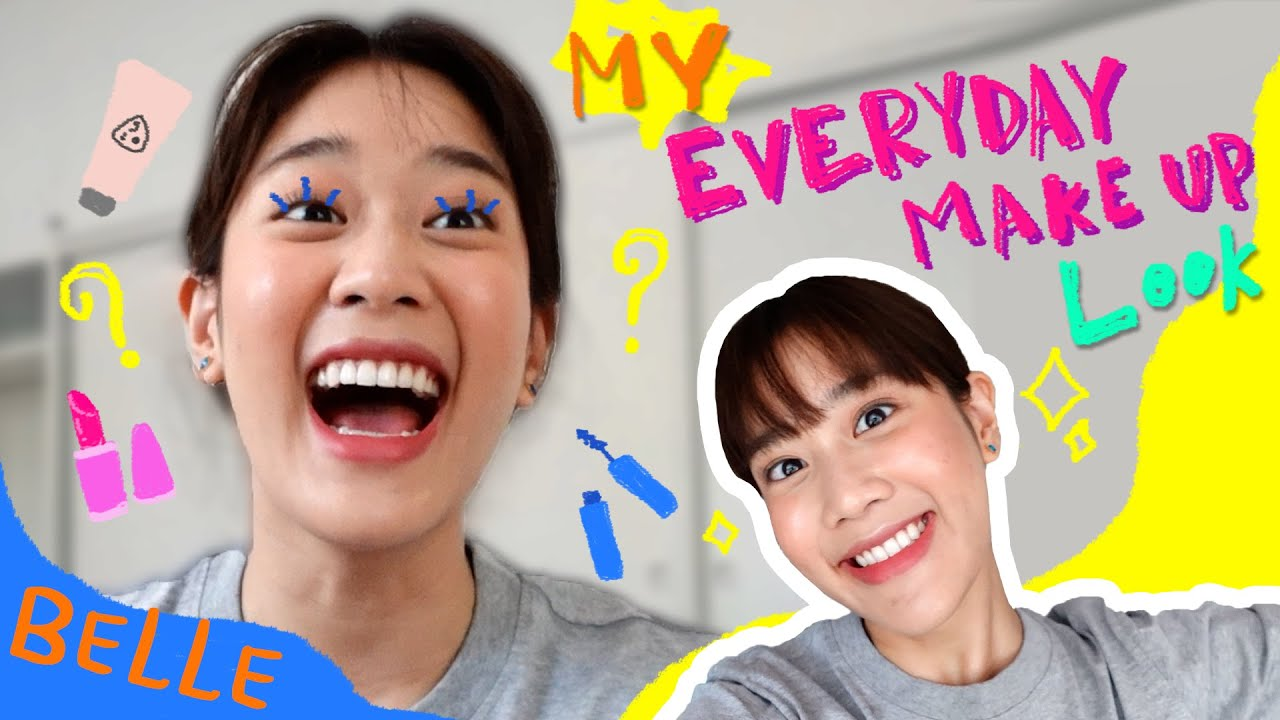 My Everyday Makeup Look! | Kemisara Paladesh