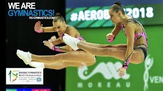 2018 Aerobic Worlds, Guimaraes (POR) - Highlights MIXED PAIR and TRIO - We Are Gymnastics !