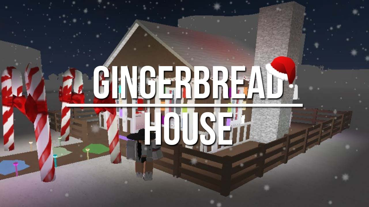 Roblox Welcome To Bloxburg Gingerbread House 47k Youtube