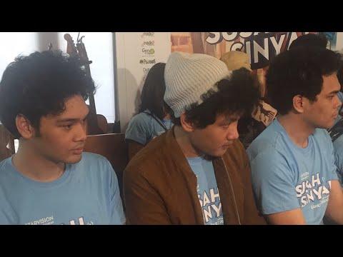 Press Conference OST.Susah Sinyal - TheOvertunes, Rendy Pandugo, Ardhito Pramono (Vertical Video)