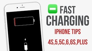 How to charge your iPhone faster / fast charging alternative for iPhone