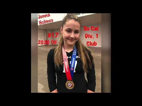 Jenna Holmes's Women's Volleyball Recruiting Profile