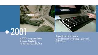 NATO-a -- video vremeplov (NATO video timeline - CROATIAN)
