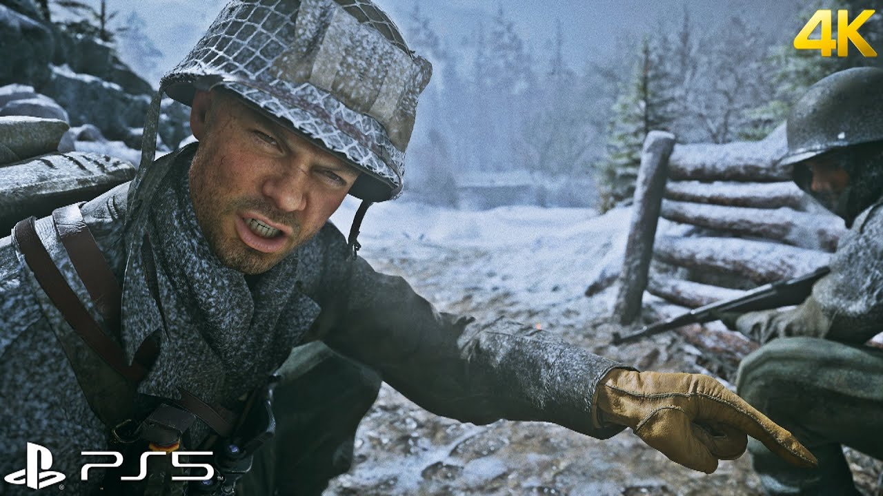 Call of Duty: WWII - PS5™ Gameplay [4K 60FPS]