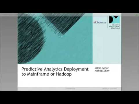 Webinar: Predictive Analytics Deployment To Mainframe Or Hadoop