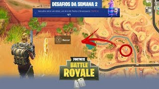 SEARCH AMONG an oasis, a STONE ARCH and DINOSAURS-Fortnite Battle Royale ᴴ ᴰ