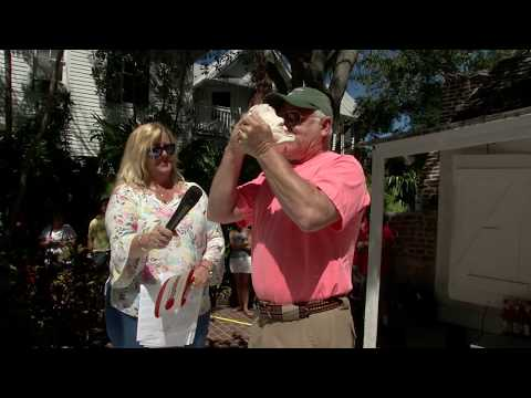 Watch The 56th annual Conch Shell Blowing Contest