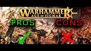 Age of Sigmar - Pros and Cons explained by an Australian