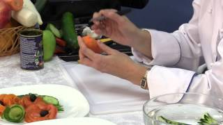 Карвинг 05 Шишка из моркови