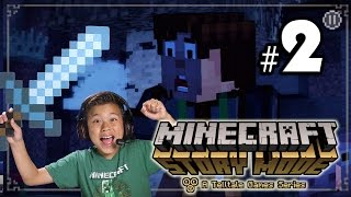 MINECRAFT STORY MODE - Episode 1 The Order of the Stone - Part 2