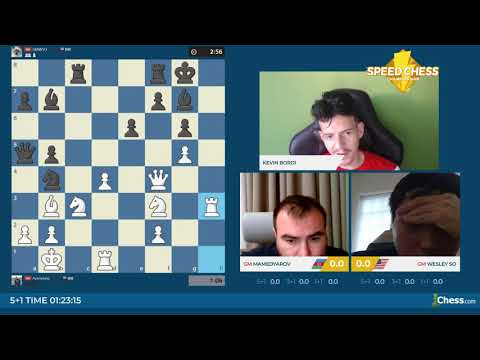 Speed Chess 1er Tour - Mamedyarov Contre So