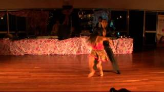 Giancarlo and Masha - Salsa dancing -