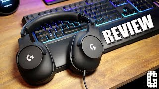 PRO HEADSET FOR $90? : Logitech G Pro Gaming Headset REVIEW