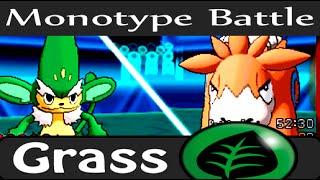 Monotype Pokemon Battle - Grass