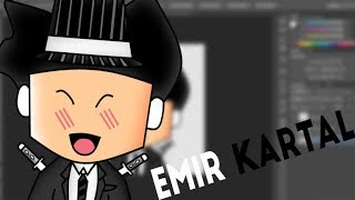 🖤 Emir KARTAL Speed Art 🖤 Roblox Profile Picture 🖤