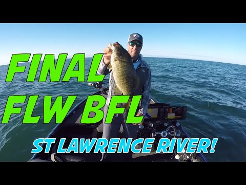 FLW BFL Tournament On The St Lawrence River - Clayton, NY 1000 Islands Bass Fishing Tournament!