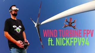Wind Turbine FPV ft. NickFpv94   Featured Drone Pilot #4   DansTube.TV