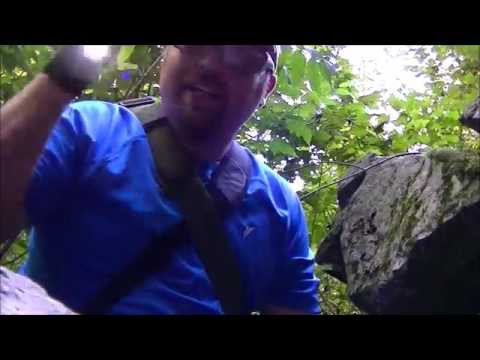 Five Man Cave - Rusk County Blue Hills - Hiking and Geocaching