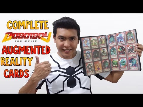 [CONTEST]  COMPLETE BOBOIBOY THE MOVIE AUGMENTED REALITY (AR) CARDS