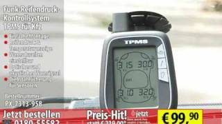 Funk-Reifendruck-Kontrollsystem TPMS für Kfz