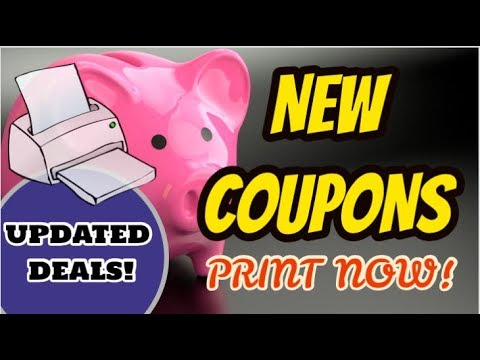 NEW DEAL UPDATES & PRINTABLE COUPONS | WALGREENS & CVS