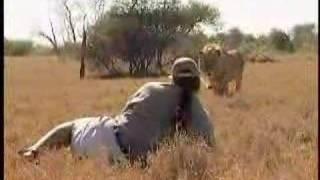 Homem contra Leão