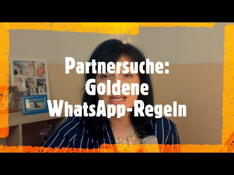 partnersuche whatsapp
