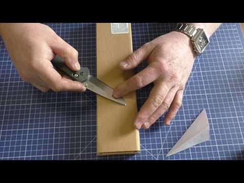 Как держать угол заточки ножа