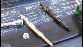 Comment remplacer les bougies de préchauffage sur Renault Espace, Laguna, Safrane 2,2 dT
