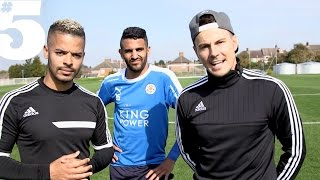 Riyad Mahrez  The F2 - Tekkers  Skills  5 Players Lounge