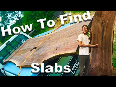 DIY 3 Easy Steps to Find Live Edge Slabs!!!