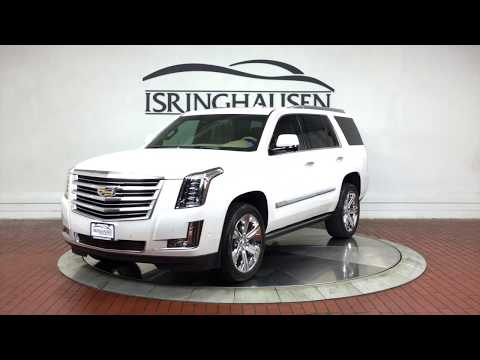 2019 Cadillac Escalade Platinum in Crystal White Tricoat - 262271