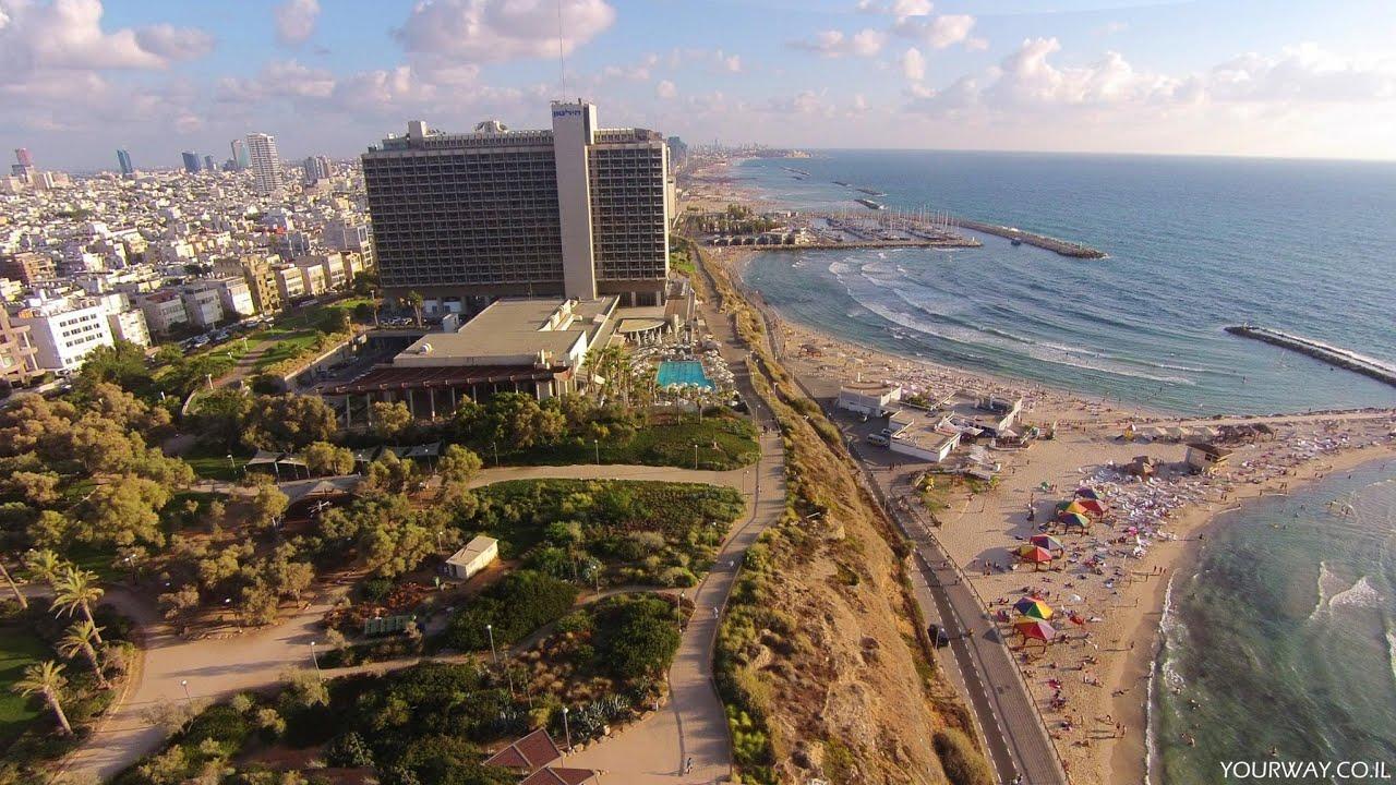 Tel Aviv Hd: Above Hilton Beach Tel Aviv