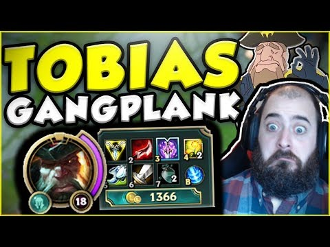 Download Youtube: TOBIAS FATE GANGPLANK BUILD IS LEGIT SO BUSTED! GANGPLANK TOP GAMEPLAY SEASON 7! - League of Legends