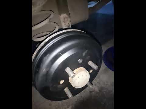 как снять тормозной барабан быстро шевроле авео или доработка тормозных колодок