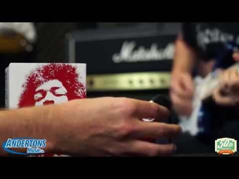 Dunlop Jimi Hendrix Band of Gypsys Fuzz Pedal Demo