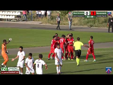 West Armenia (1-4) Noravank (21.08.20) 2020-21 AFL/ Tour 02/ Goals