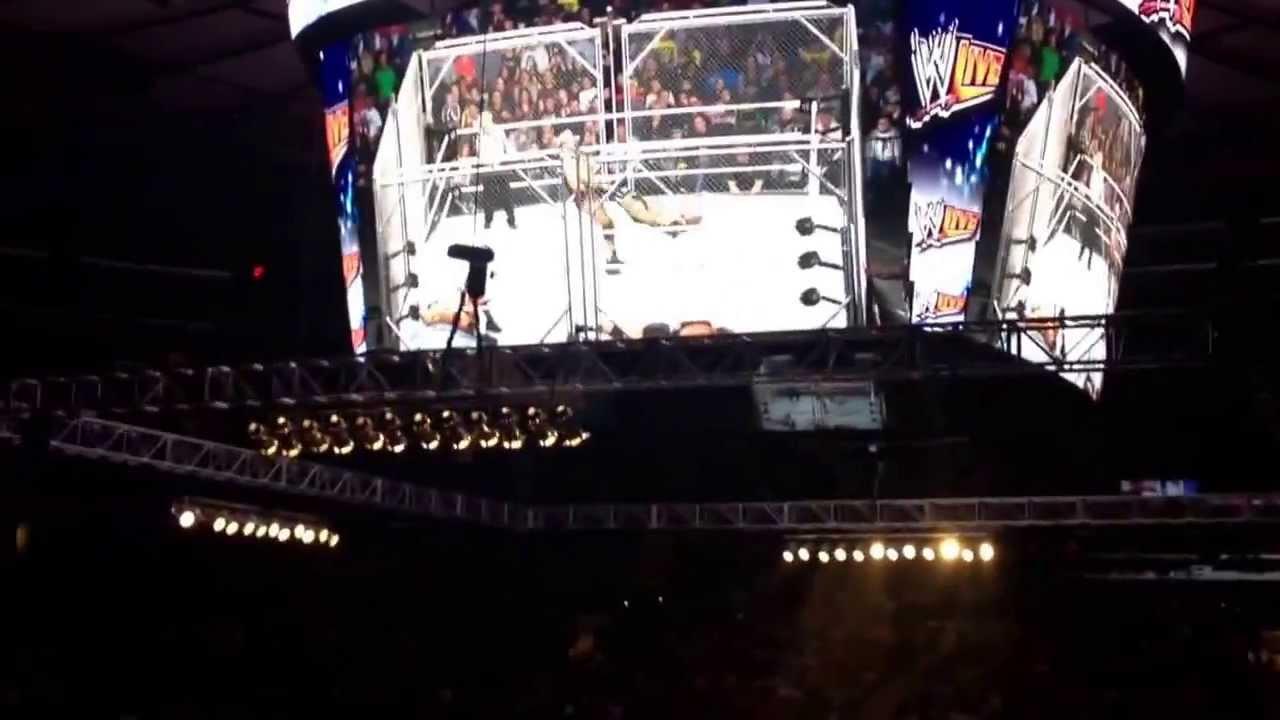 Cesaro Swing Wwe Live Holiday Tour Madison Square Garden Youtube