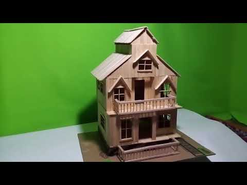 530 Koleksi Gambar Rumah Tingkat Stik Es HD Terbaik