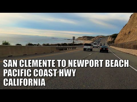 🚗🏖 Drive PACIFIC COAST HWY - SAN CLEMENTE to NEWPORT BEACH, CALIFORNIA| 4K DRIVE! 2021