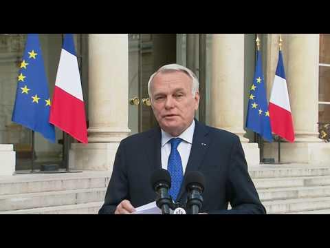 Attaque chimique en Syrie - Déclaration de Jean-Marc Ayrault  (26 avril 2017)