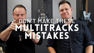 5 mistakes to avoid when using Multitracks in your church // Worship Leader Wednesday