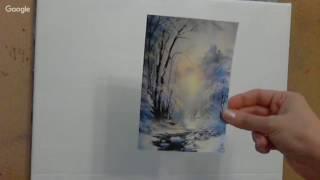 Живопись - зимние уроки творчества. Маргарита Потороча.mp4