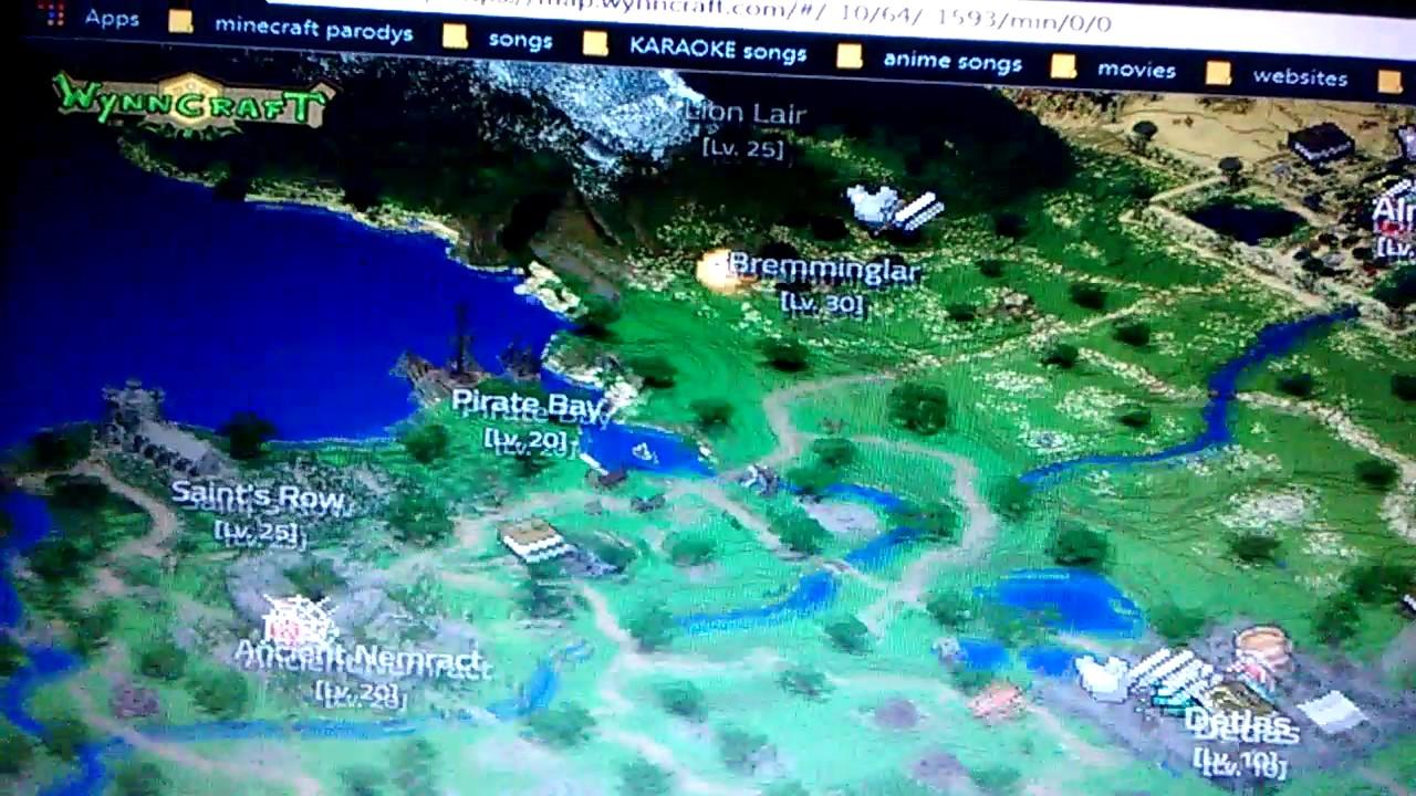 Wynn craft map youtube wynn craft map gumiabroncs Gallery